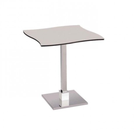 Compact Table with Chrome Legs - cmp949