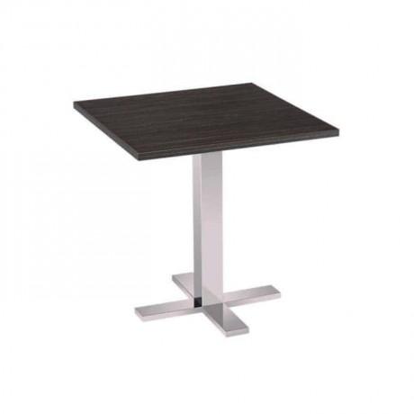 Ortadan Ayaklı Compact Tablalı Cafe Masası - cmp962