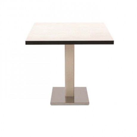 Stainless Steel Legs Compact Hotel Table - cmp961