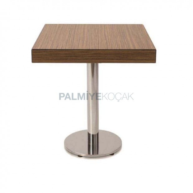 Round-Based Thick Compact Table Top Restaurant Table