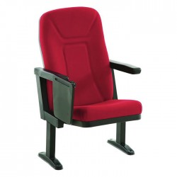 High-Backed Conference Chair with Arm Desk