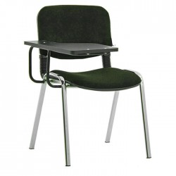 Fabric Furnished Classroom Chair with Writing Pad