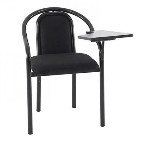 Siyah Borulu Konferans Derslik Sandalyesi - kfs09