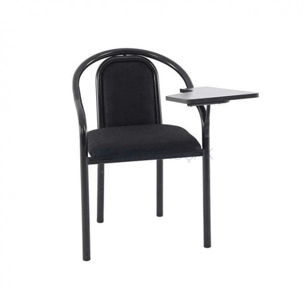 Black Pipeline Conference Classroom Chair