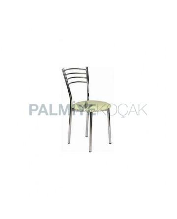 Chrome Coated Metal Chair