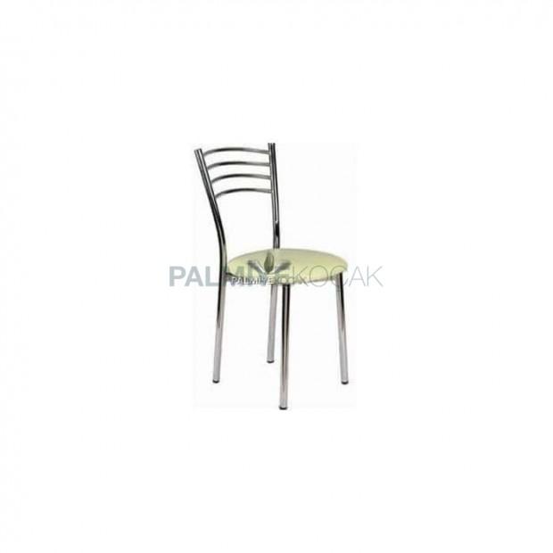 Krom Kaplı Metal Sandalye