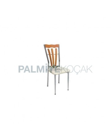 Chrome Nickel Cafe Chair