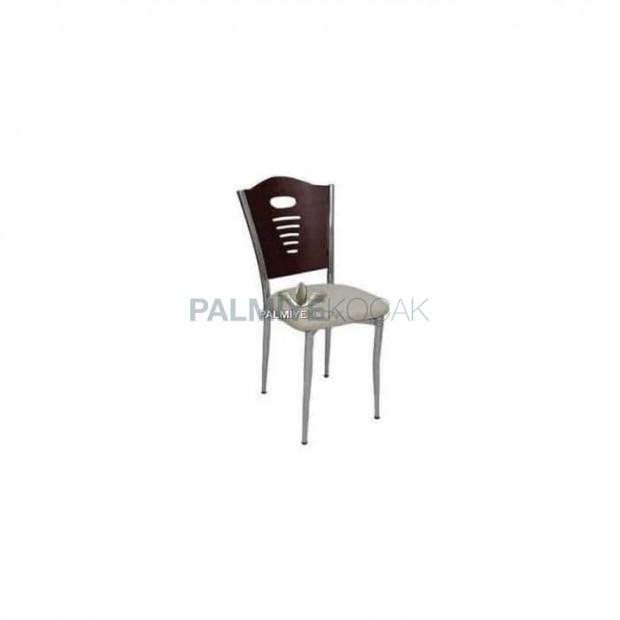 Chromed Metal Cafe Chair