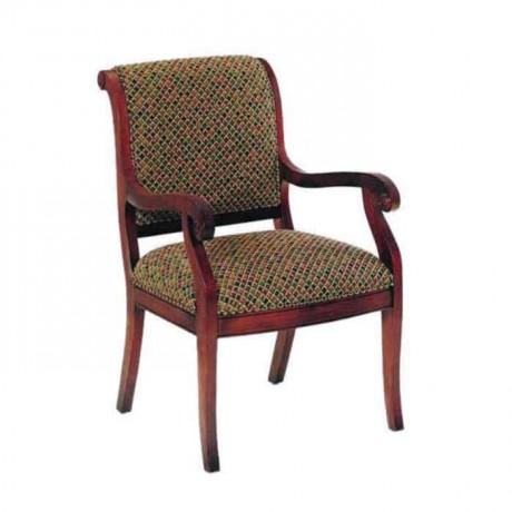 Kumaş Döşemeli Klasik Kollu Sandalye - ksak68