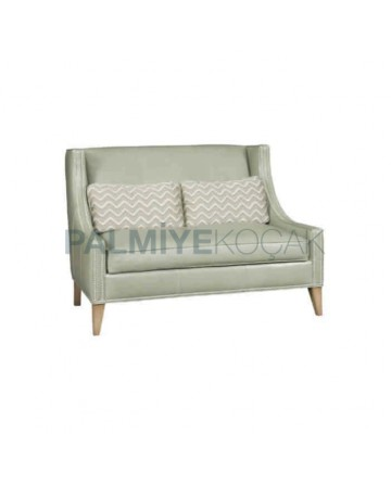 Fabric Upholstered Restaurant Couch