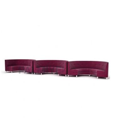 Fabric Upholstered Restaurant Loca