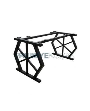 Hexagonal Petek Single Part Billet Table Leg