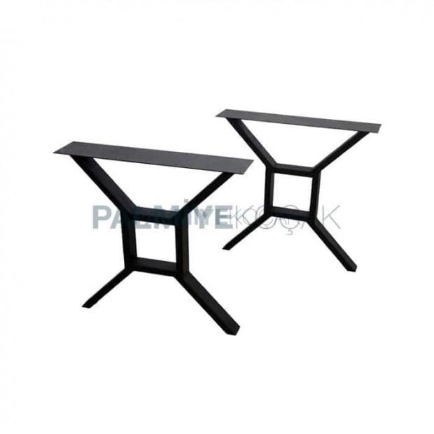 Square Shape Log Table Leg