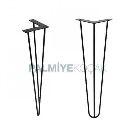Oval Tipped Table Table Leg