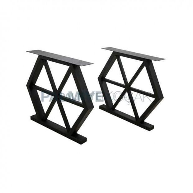 Honeycomb Hexagonal Table Leg