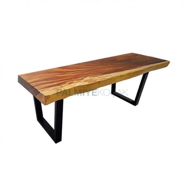 Wooden Log Bar Table