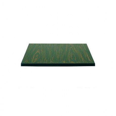 Ebony Square Laminate Table Top Cafe Table Top - lmt7785