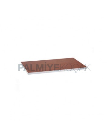 Cherry Laminate Table Top Edge Gray Pvc