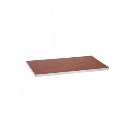 Cherry Laminate Table Top Edge Gray Pvc - lmt7784