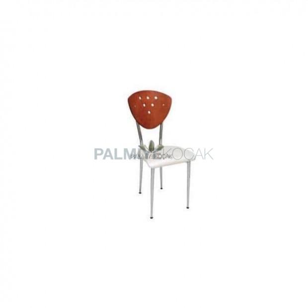 Lamine Chrome Metal Chair