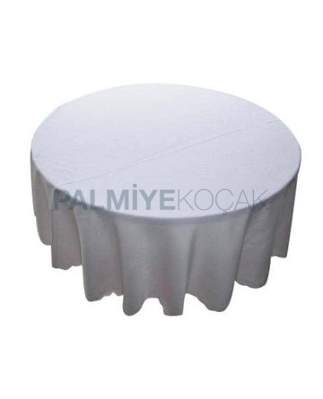 Round Table Cloth with Cotton Fabric