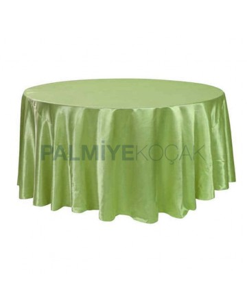 Table Cloth with Green Fabric