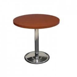 Hus Round  Chrome Leg Table