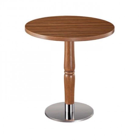Oak Table Topd Round Cafe Table - mty8084