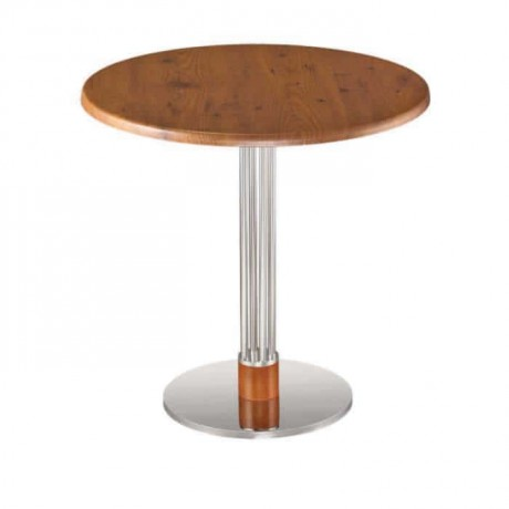 Novecento Verzalit Stainless Legs Table - mty8094