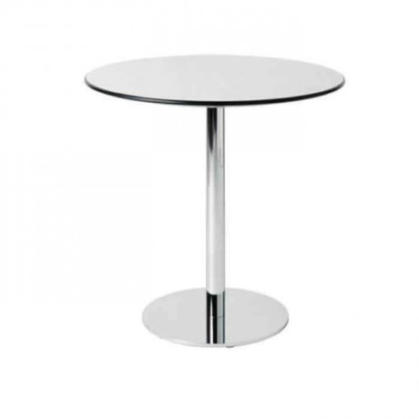 Stainless Pipe Lake Painted Round Table - mty8110