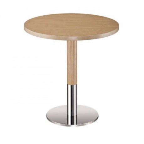 Round Metal Leg Hotel Table - mty8091