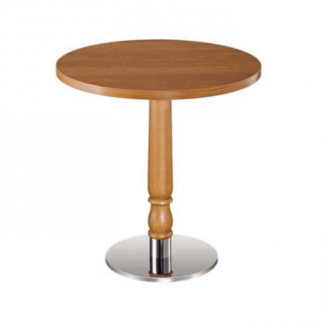 Round Table Top Metal Leg Hotel Table - mty8085