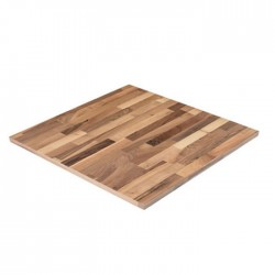 Beech Solid Panel Wood Square Table Top