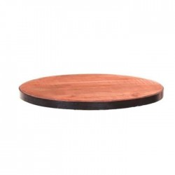 Round Massive Pan Cafe Table