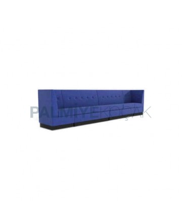 Blue Fabric Upholstered Loca