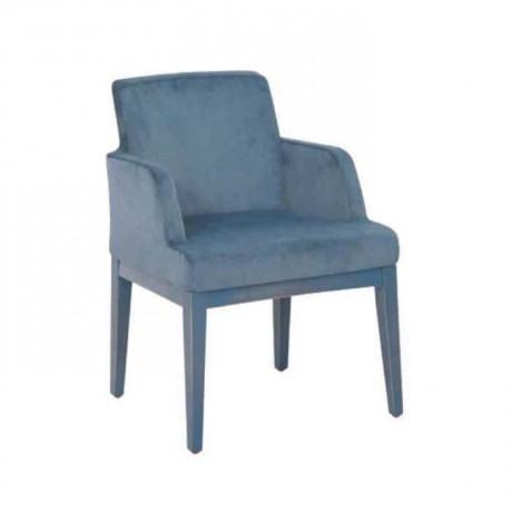 Mavi Kumaşlı Mavi Boyalı Poliüretan Sandalye - psa679