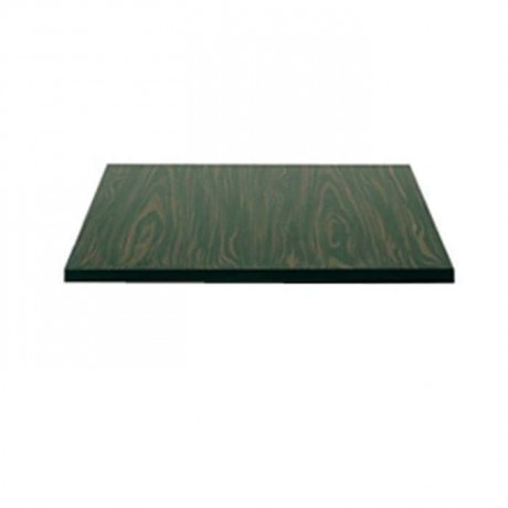 Ebony Patterned Pvc Edge Band Mdflam Cafe Table Top - mdf4030