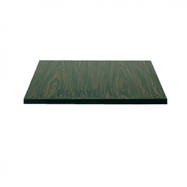 Ebony Patterned Pvc Edge Band Mdflam Cafe Table Top
