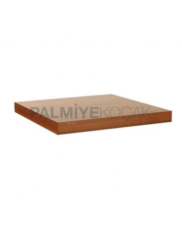 Square Mdflam Walnut Cafe Table Top