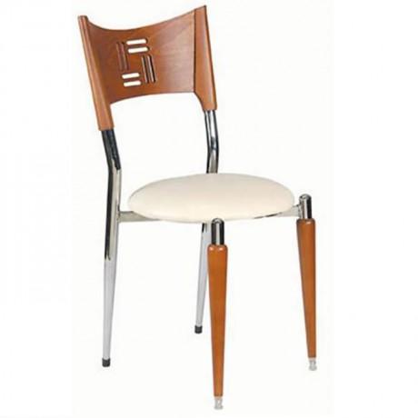 Wooden Chromium Chromate Chair - ams20