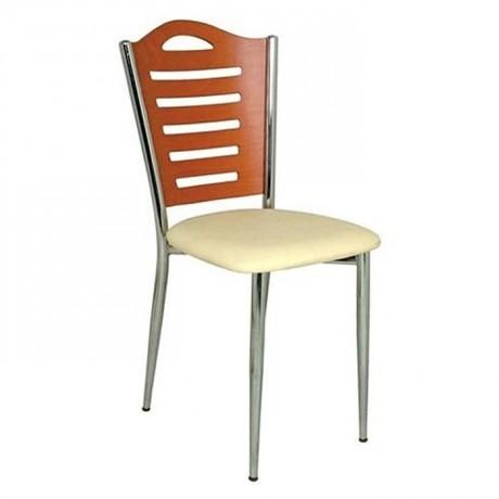 Ceviz Ahşap Metal Sandalye - amp603