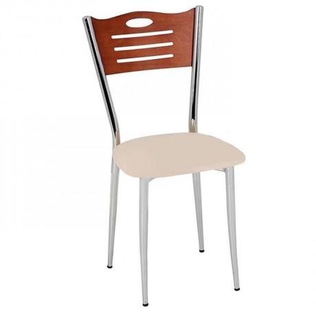 Krem Derili Metal Sandalye - amp601