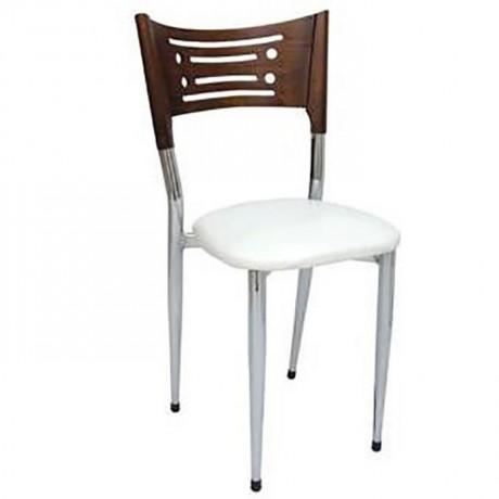 Krom Kaplı Düğün Salonu Sandalyesi - ams121