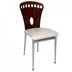 Metal Wooden Chair 1st Class