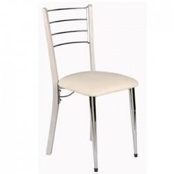 Metal Wood Chair Model