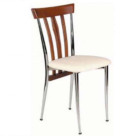 Metal Ahşap Sandalye Çeşiti - ams33