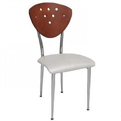 Metal Ahşap Sandalye Mobilyası - ams132