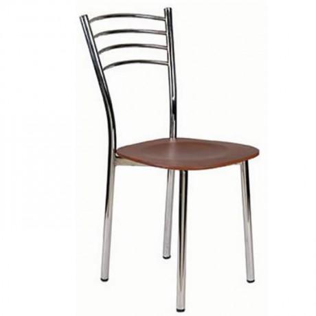 Metal Ahşap Sandalye Mobilyası - Metal Ahşap Sandalye