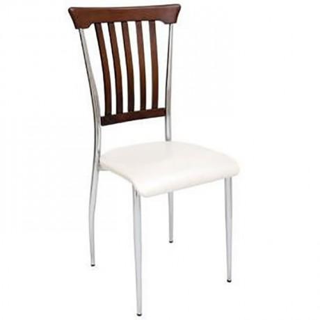 Metal Ayaklı Cafe Sandalyesi - ams104