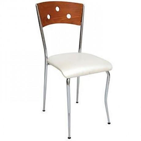 Metal Kromajlı Sandalye - ams89